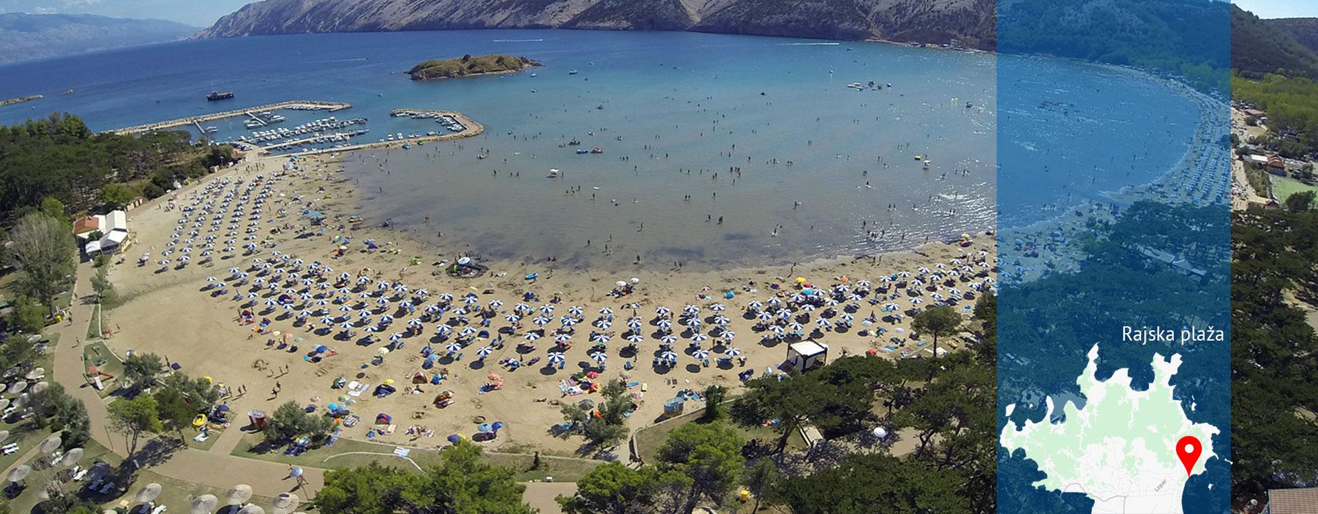 Općina Lopar - Rajska plaža