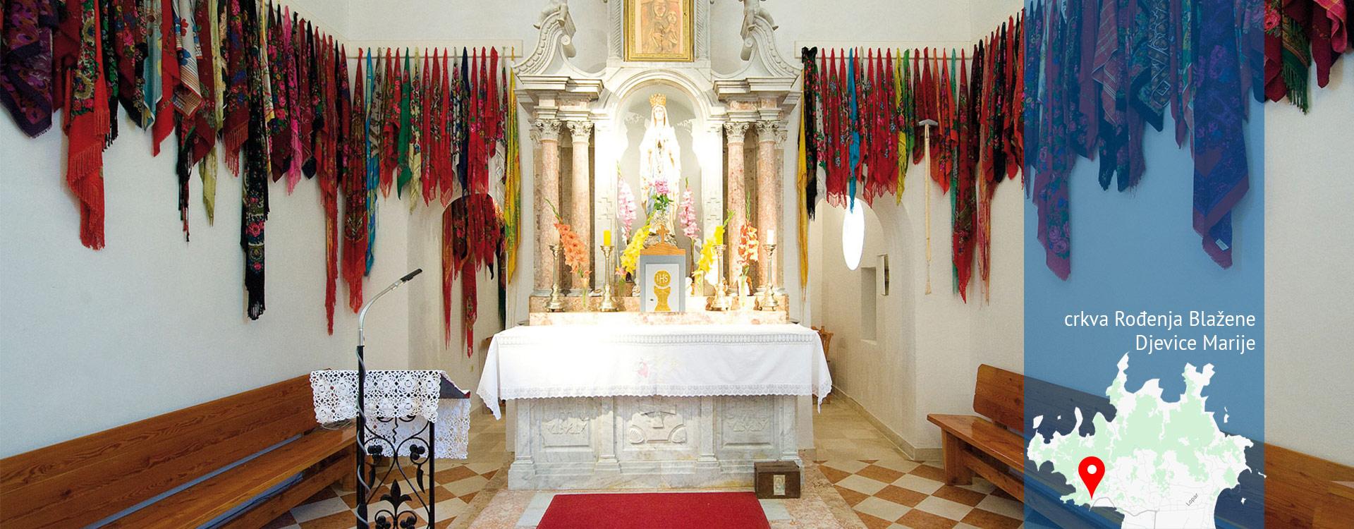 Općina Lopar - crkva Rođenja Blažene Djevice Marije