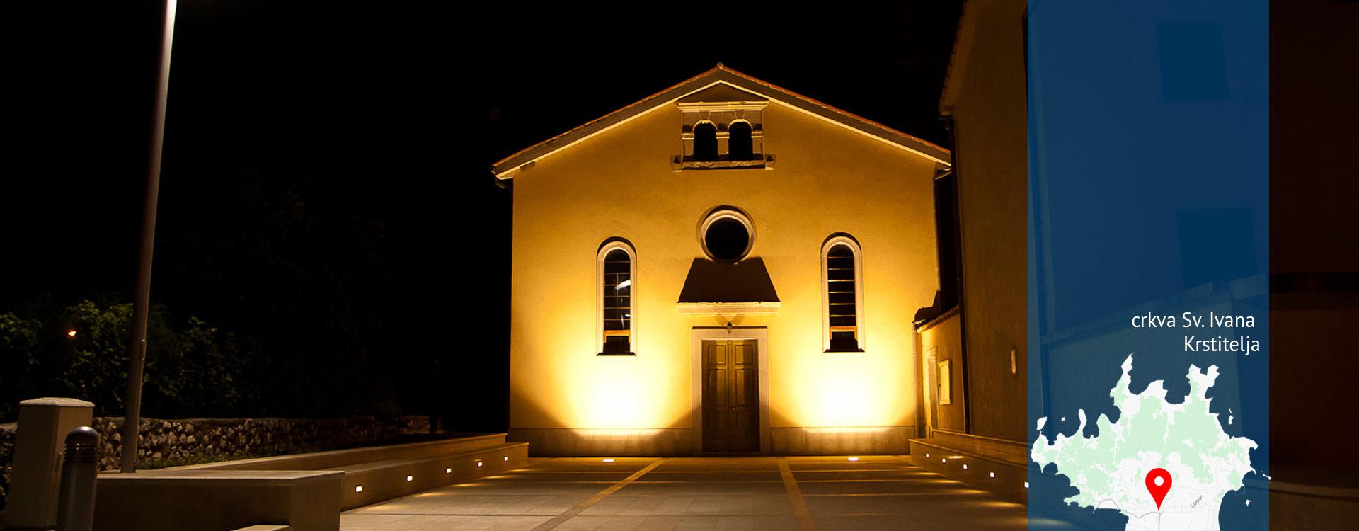 Općina Lopar - crkva Sv. Ivana Krstitelja