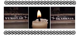 Paljenje svijeća u znak sjećanja na žrtve tragedije Vukovara i Škabrnje