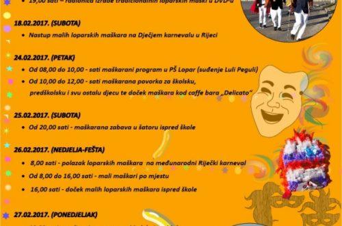 Kalendar karnevalskih događanja