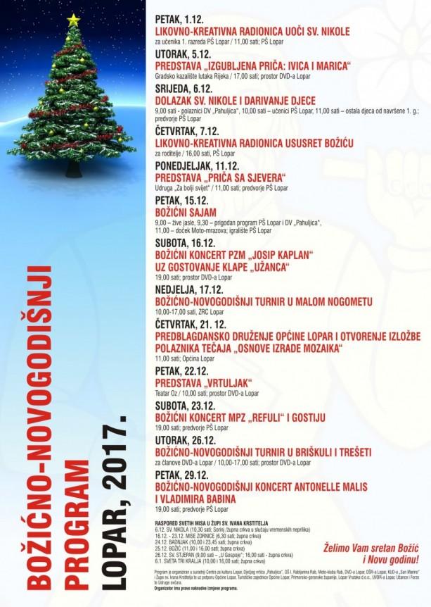 plakat božićno-novogodišnji program-4