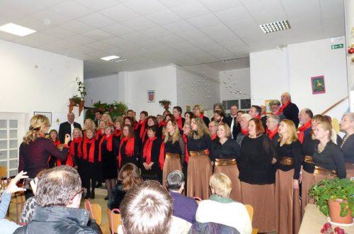 Božićni koncert MPZ Refuli i gostiju