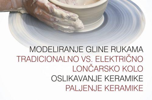 Upisi na ciklus radionica Osnove lončarstva (keramike)