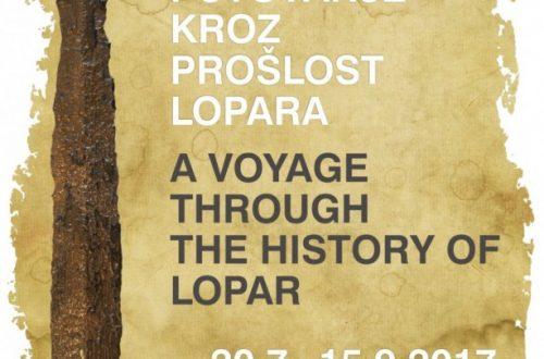 Outdoor izložba Putovanje kroz prošlost Lopara