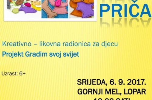 "Kreativno-likovna radionica ""Tiha priča"" (6.rujna Gornji Mel)"