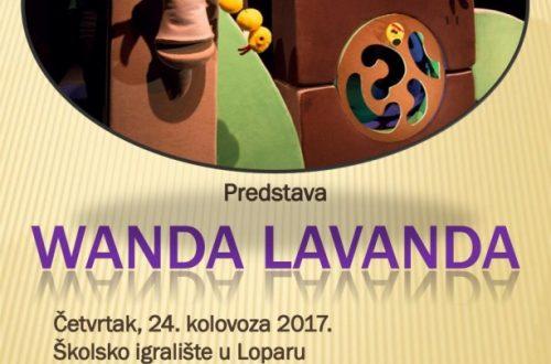 Predstava Wanda Lavanda (24.kolovoza)