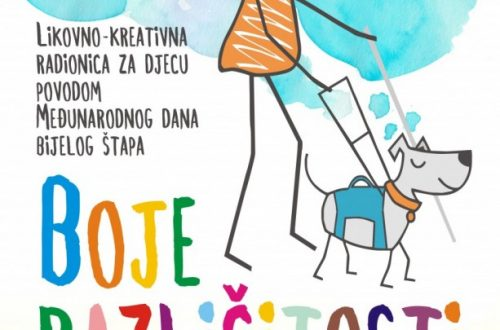 """Likovno-kreativna radionica za djecu """"Boje različitosti"""" (15.listopada)"""