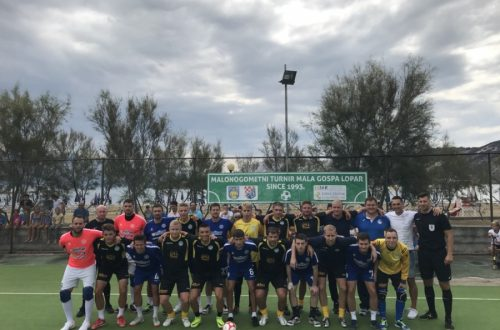 MNK BISTRO CAPITANO RAB osvojio 25. jubilarni turnir Mala Gospa Lopar 2018