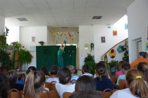 Predstava Plesna haljina žutog maslačka izvedena za školsku i vrtićku djecu