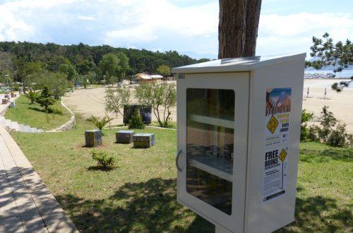 Lopar bogatiji za dvije BookCrossing zone i  mozaičnu instalaciju u javnom prostoru